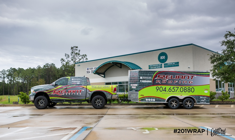 201WRAP – Jacksonville Vehicle Wrap Artists